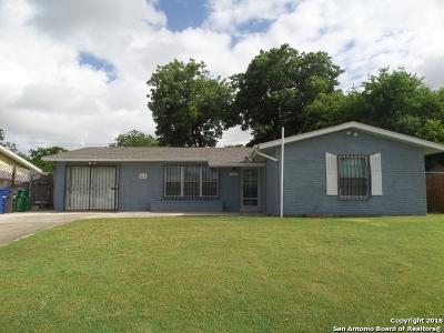 San Antonio Single Family Home New: 7627 Westfield