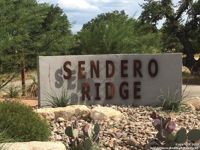 Boerne Residential Lots & Land New: 165 Sendero Ridge