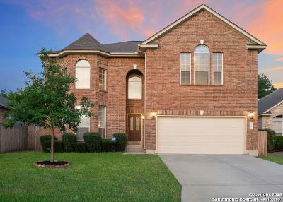 San Antonio Single Family Home New: 12346 Stable Pass
