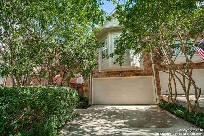 Alamo Heights TX Single Family Home Active Option: $550,000
