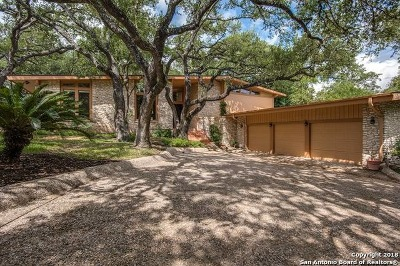 San Antonio Single Family Home New: 5409 Fredericksburg Rd