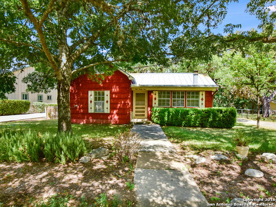 Boerne Single Family Home New: 121 2nd St