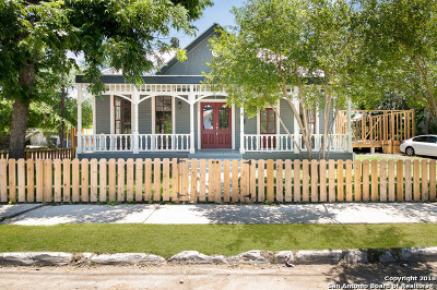 San Antonio Single Family Home New: 802 Matagorda St