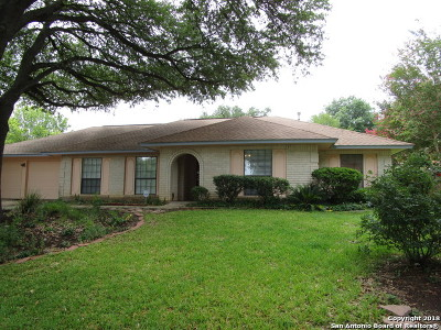 San Antonio Single Family Home New: 16814 Ft. Oswego