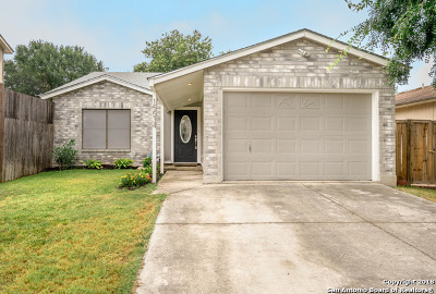 Bexar County Single Family Home New: 15534 Knollmeadow