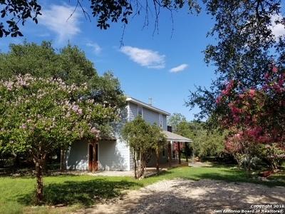 Bandera Single Family Home New: 1265 Comanche Path