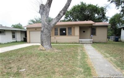 San Antonio TX Single Family Home New: $106,900