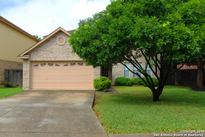 Bexar County Single Family Home New: 1614 Canyon Parke Dr