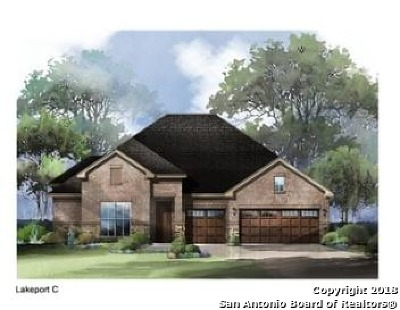 Bexar County Single Family Home New: 28834 Cherry Valley