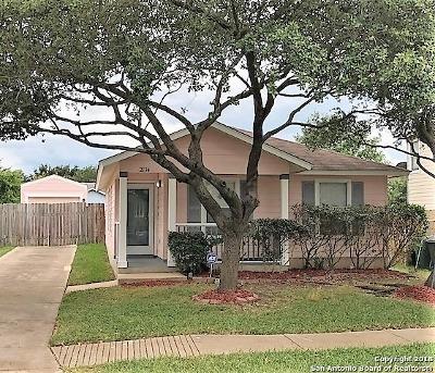 San Antonio TX Single Family Home New: $114,900