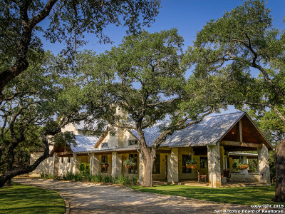 Boerne Single Family Home Price Change: 35 Old San Antonio Rd