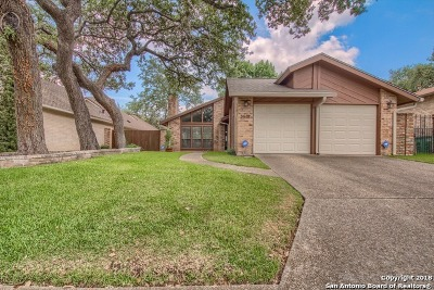 Bexar County Single Family Home New: 3618 Hunters Trail