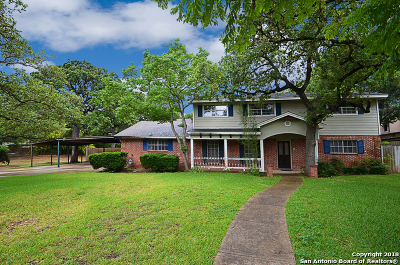 Bexar County Single Family Home New: 312 Sterling Browning Rd