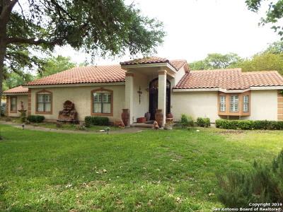 San Antonio Single Family Home New: 26049 S Glenrose Road