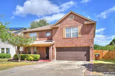 San Antonio Single Family Home New: 11747 Paddlebrook