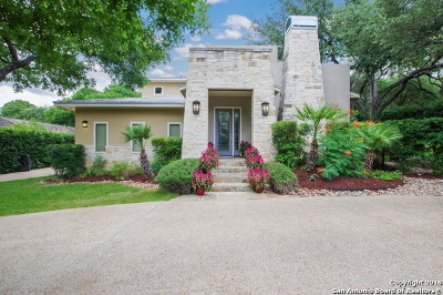 San Antonio Single Family Home For Sale: 13903 Bluff Ivey Ln