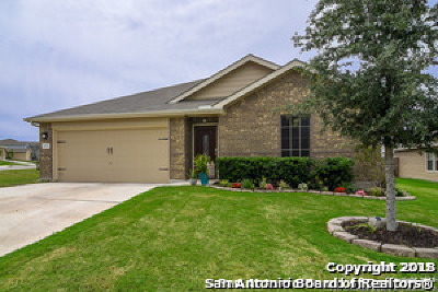 San Antonio Single Family Home New: 11211 Four Iron Way