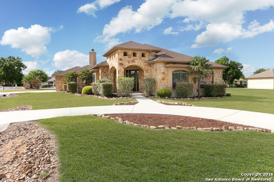 New Braunfels Single Family Home Back on Market: 108 Bandit Bay View