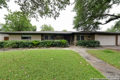 San Antonio Single Family Home New: 114 Northridge Dr