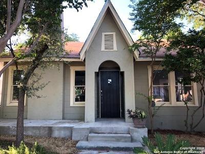 San Antonio Single Family Home New: 2035 W Gramercy Pl