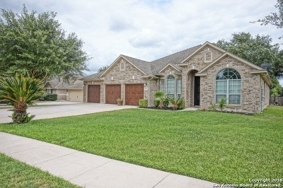 Cibolo Single Family Home Price Change: 109 Watson Way