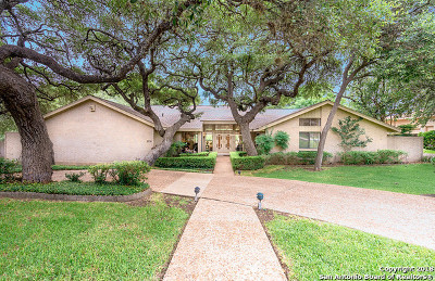San Antonio Single Family Home New: 210 Country Wood Dr