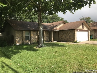 Converse Single Family Home New: 10223 Outlaw Bend