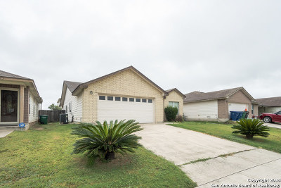 San Antonio Single Family Home Price Change: 3319 Foster Meadows