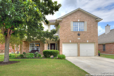 Schertz Single Family Home New: 4625 Pebble Run