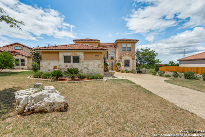 San Antonio Single Family Home New: 25031 Estancia Circle