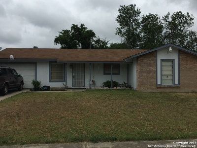 San Antonio Single Family Home Back on Market: 7043 Castleridge St