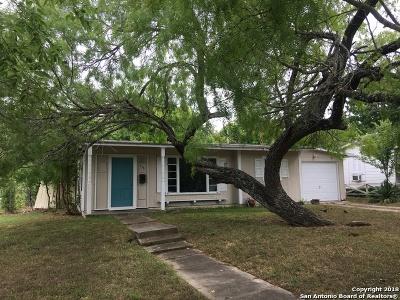 Bexar County Single Family Home Back on Market: 438 Sumner Dr