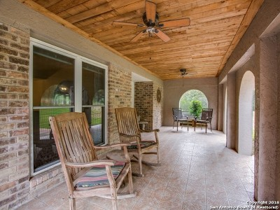 Boerne Single Family Home New: 27214 Hidden Trail