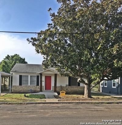 San Antonio Single Family Home New: 1639 Gorman