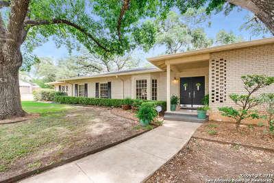 San Antonio Single Family Home New: 350 Prinz Dr