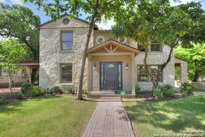 San Antonio Single Family Home New: 2068 W Mistletoe Ave