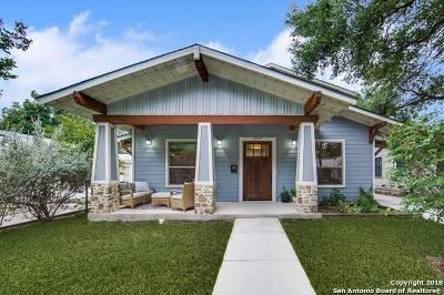 Alamo Heights Single Family Home New: 223 Corona Ave