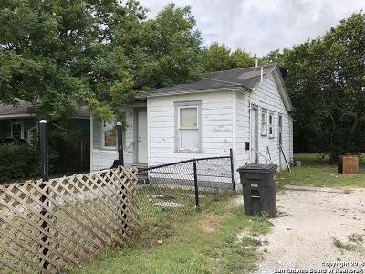 San Antonio Single Family Home For Sale: 3530 San Luis St