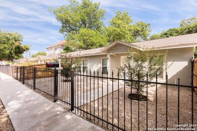 San Antonio Multi Family Home New: 1106 Flores St