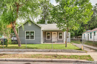 San Antonio Single Family Home New: 123 Cliff Ave