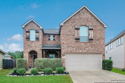 San Antonio Single Family Home New: 21510 Foxpark Lodge