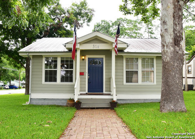 New Braunfels Single Family Home For Sale: 315 S Hackberry Ave