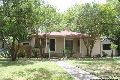 San Antonio Single Family Home New: 238 Irvington