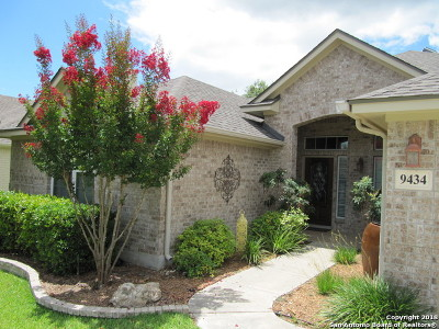San Antonio Single Family Home New: 9434 Mariposa Pass