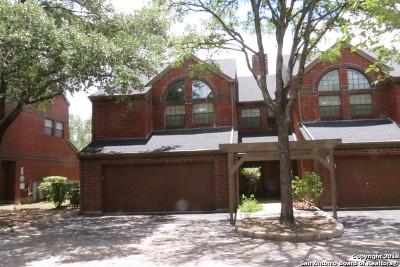 San Antonio Condo/Townhouse New: 7930 Roanoke Run #501