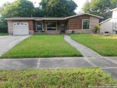 San Antonio Single Family Home New: 163 Tansyl Dr