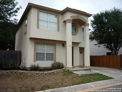 San Antonio Single Family Home New: 8803 Bridgefield