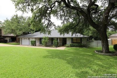 San Antonio Single Family Home New: 13706 Yellow Oak Circle