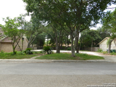 San Antonio Residential Lots & Land New: 12919 Queens Forest St