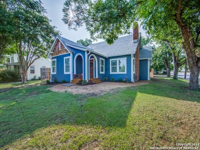 New Braunfels Single Family Home New: 1191 Stonewall St